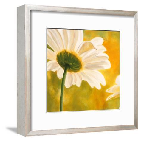 Marguerites dans le Soleil I-Pierre Viollet-Framed Art Print