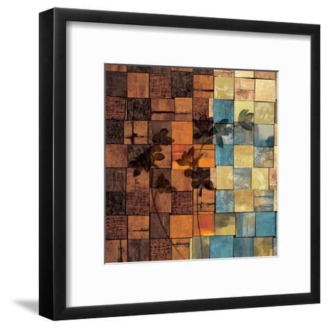 Segments II-Marcia Wells-Framed Art Print