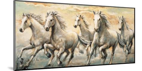 Wild Horses-Ralph Steele-Mounted Giclee Print