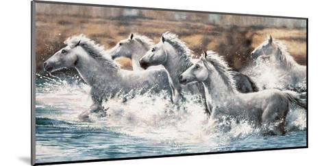 Running Wild-Ralph Steele-Mounted Giclee Print