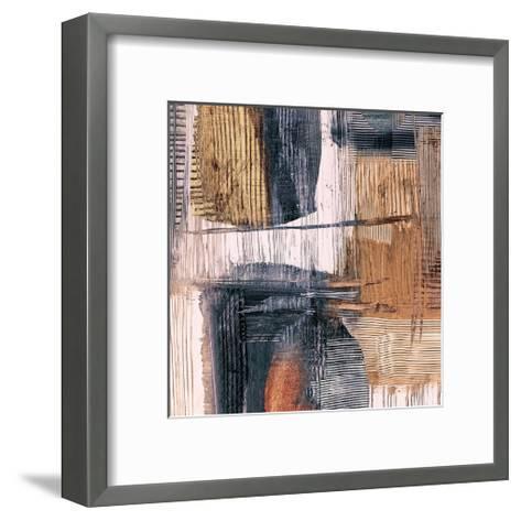 Geometric Movement II-Graham Ritts-Framed Art Print