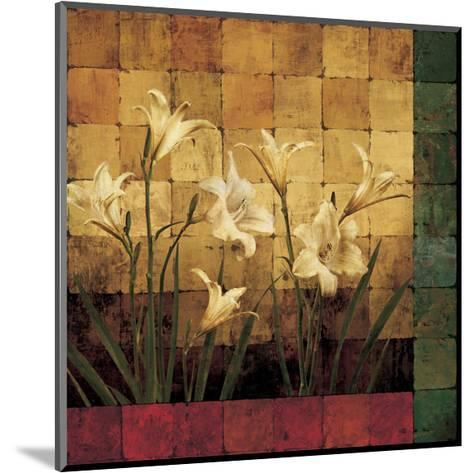 Lily Garden-Marcia Wells-Mounted Giclee Print