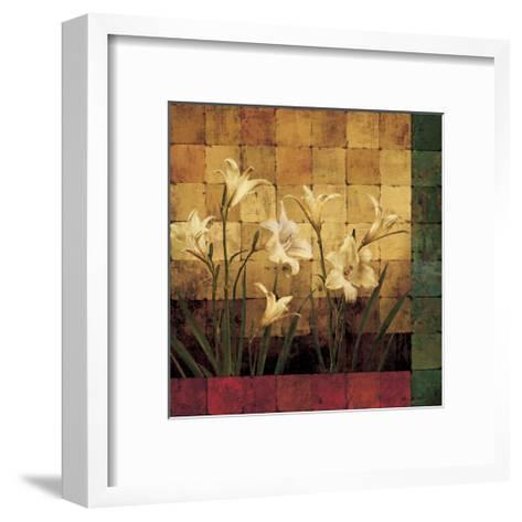 Lily Garden-Marcia Wells-Framed Art Print