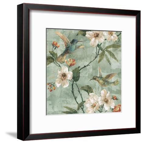 Birds of a Feather II-Rene? Campbell-Framed Art Print