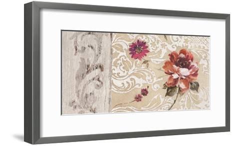 Fleurs Neoclassique I-Hélene Simon-Framed Art Print