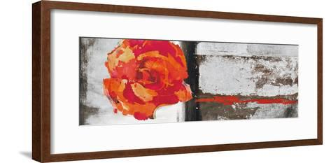 Metallic Pop Flower II-Sarah Ward-Framed Art Print