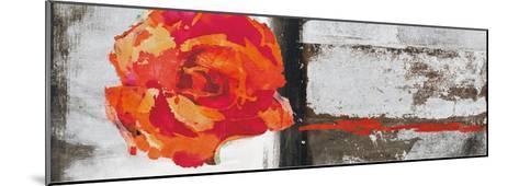 Metallic Pop Flower II-Sarah Ward-Mounted Giclee Print