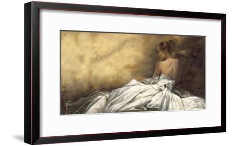 Eleganza in Bianco-Andrea Bassetti-Framed Art Print