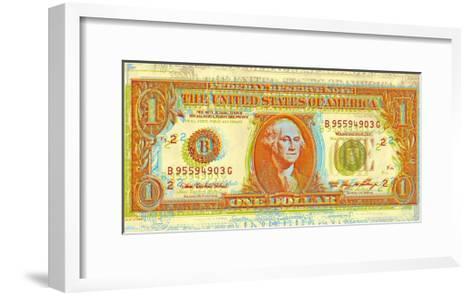 Dollar Bill-Dustin Chambers-Framed Art Print