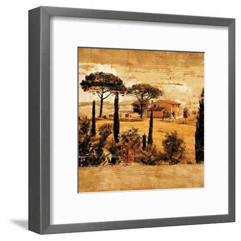 Tuscan Countryside I-Colin Floyd-Framed Art Print