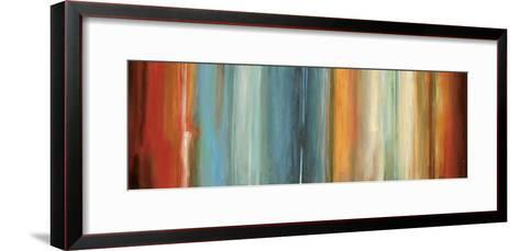 Flow II-Max Hansen-Framed Art Print