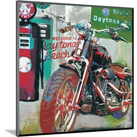 Daytona Beach-Ray Foster-Mounted Giclee Print