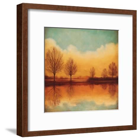 Reflections of Autumn I-Neil Thomas-Framed Art Print