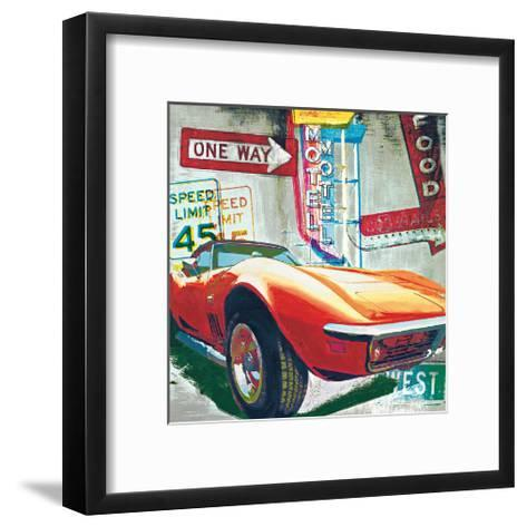 Going West-Ray Foster-Framed Art Print