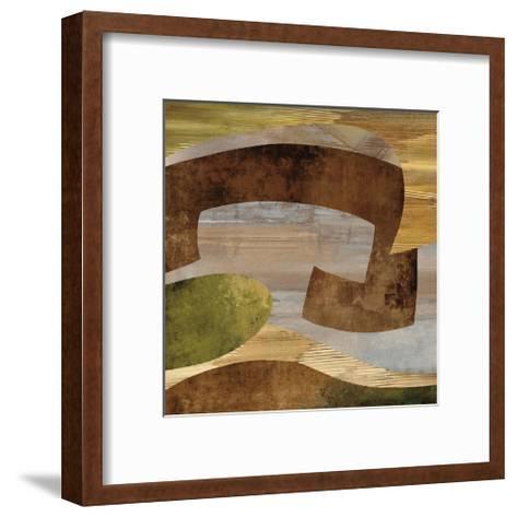 Conjunction I-K^ Baker-Framed Art Print