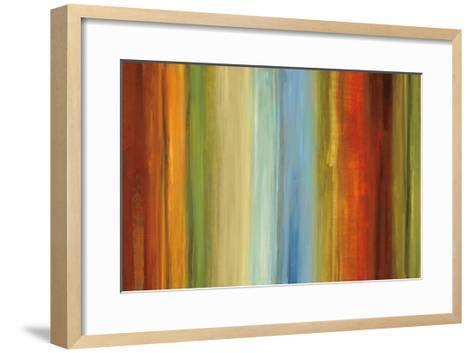Wavelength II-Max Hansen-Framed Art Print