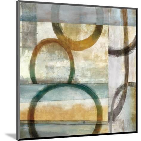 Round and Round I-Brent Nelson-Mounted Giclee Print
