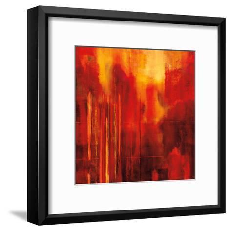 Red Zone II-Brent Nelson-Framed Art Print