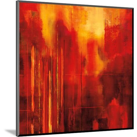 Red Zone II-Brent Nelson-Mounted Giclee Print
