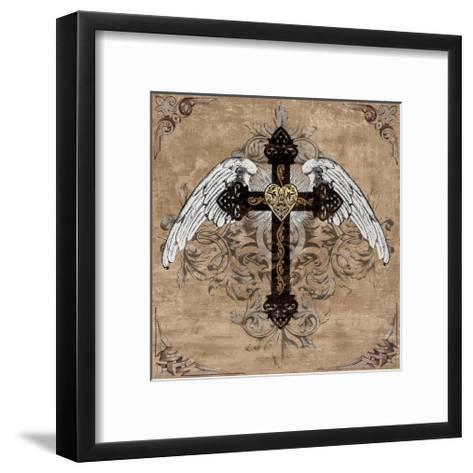 Cross I-Brandon Glover-Framed Art Print
