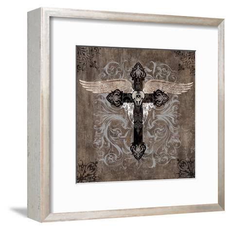 Cross II-Brandon Glover-Framed Art Print
