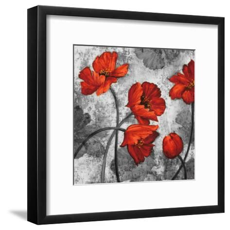 Evening Red II-Brian Francis-Framed Art Print