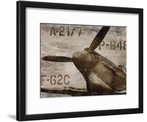 Vintage Airplane-Dylan Matthews-Framed Art Print
