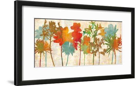 Colorful Silhouette-Erin Lange-Framed Art Print