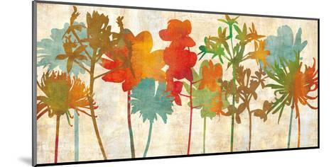 Colorful Silhouette-Erin Lange-Mounted Giclee Print