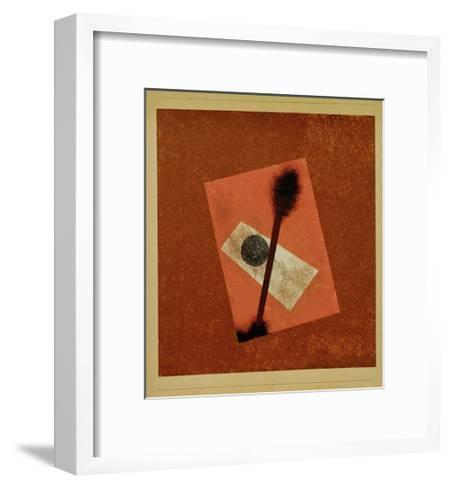 Relatively Weighed Up, 1930-Paul Klee-Framed Art Print
