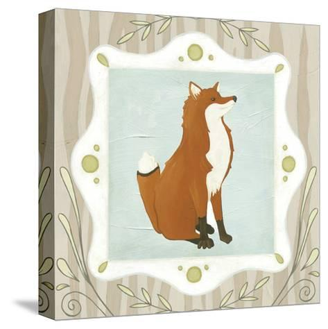 Forest Cameo III-Erica J^ Vess-Stretched Canvas Print