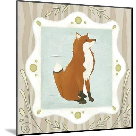 Forest Cameo III-Erica J^ Vess-Mounted Art Print