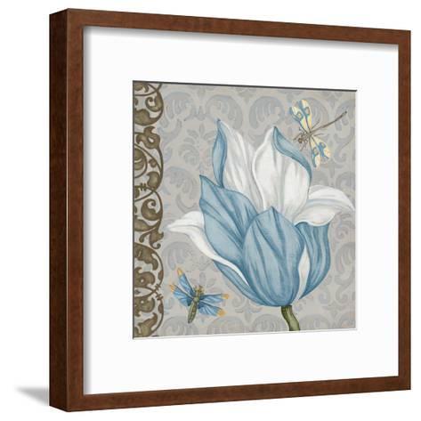 Garden Romance III-Erica J^ Vess-Framed Art Print