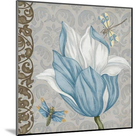 Garden Romance III-Erica J^ Vess-Mounted Art Print