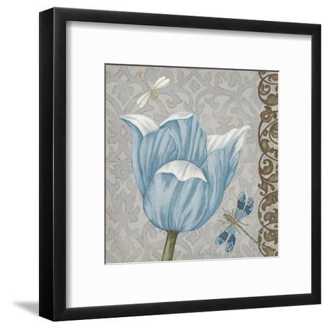 Garden Romance IV-Erica J^ Vess-Framed Art Print