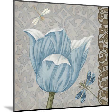 Garden Romance IV-Erica J^ Vess-Mounted Art Print