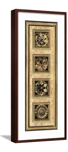 Rosette Panel II--Framed Art Print