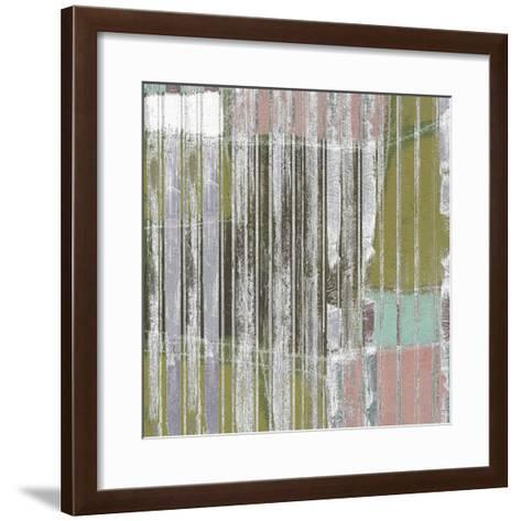 Linear Mix III-Jennifer Goldberger-Framed Art Print