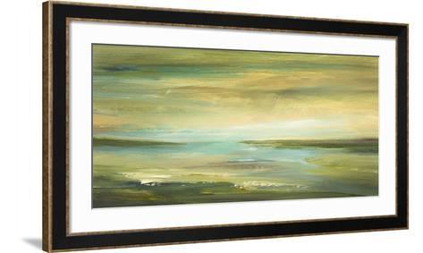 Shoreline II-Sheila Finch-Framed Art Print