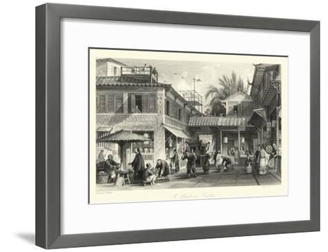 Scenes in China VIII-T^ Allom-Framed Art Print