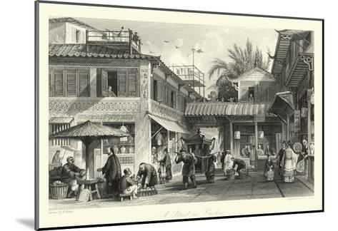 Scenes in China VIII-T^ Allom-Mounted Giclee Print