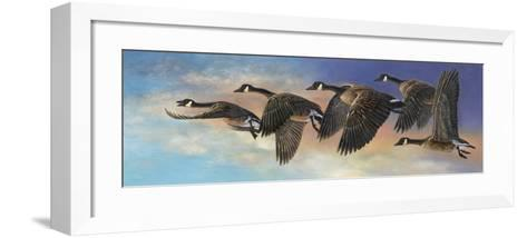 Ascent-Carolyn Mock-Framed Art Print