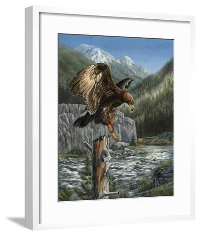 Golden Glory-Carolyn Mock-Framed Art Print