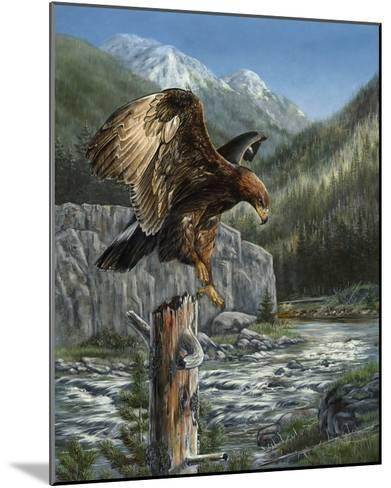 Golden Glory-Carolyn Mock-Mounted Art Print