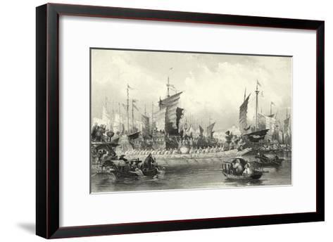 Scenes in China XI-T^ Allom-Framed Art Print