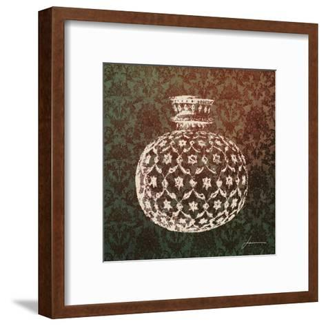 Patterned Bottles I-James Burghardt-Framed Art Print