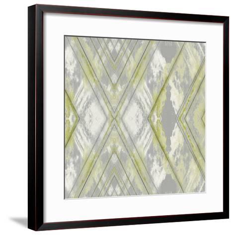 Argyle Watercolor III-Jennifer Goldberger-Framed Art Print