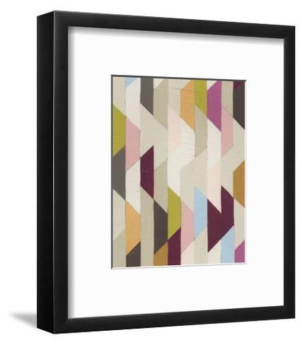 Confetti III-Erica J^ Vess-Framed Art Print