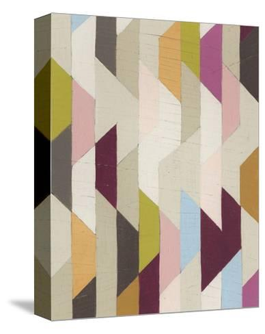 Confetti III-Erica J^ Vess-Stretched Canvas Print