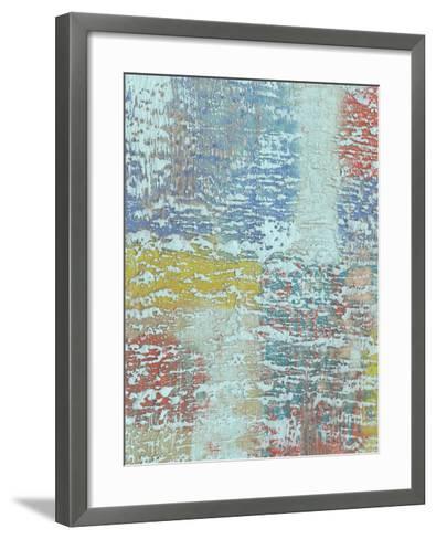 Bold Textures I-Jennifer Goldberger-Framed Art Print